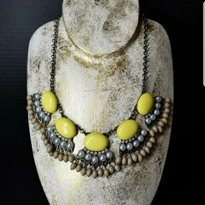 Jewelry - Necklace Womens Designer Boutique Pastel Yellow
